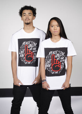 Red Finger Grafitti Tee - XL & 2XL Only