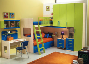 Ideas for organising kids bedroom