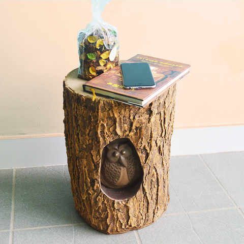 Owl Low Stool