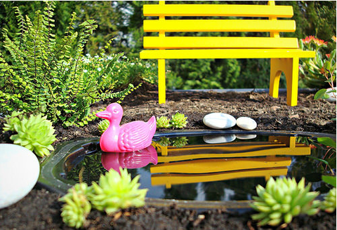 How to create a fairy mini garden