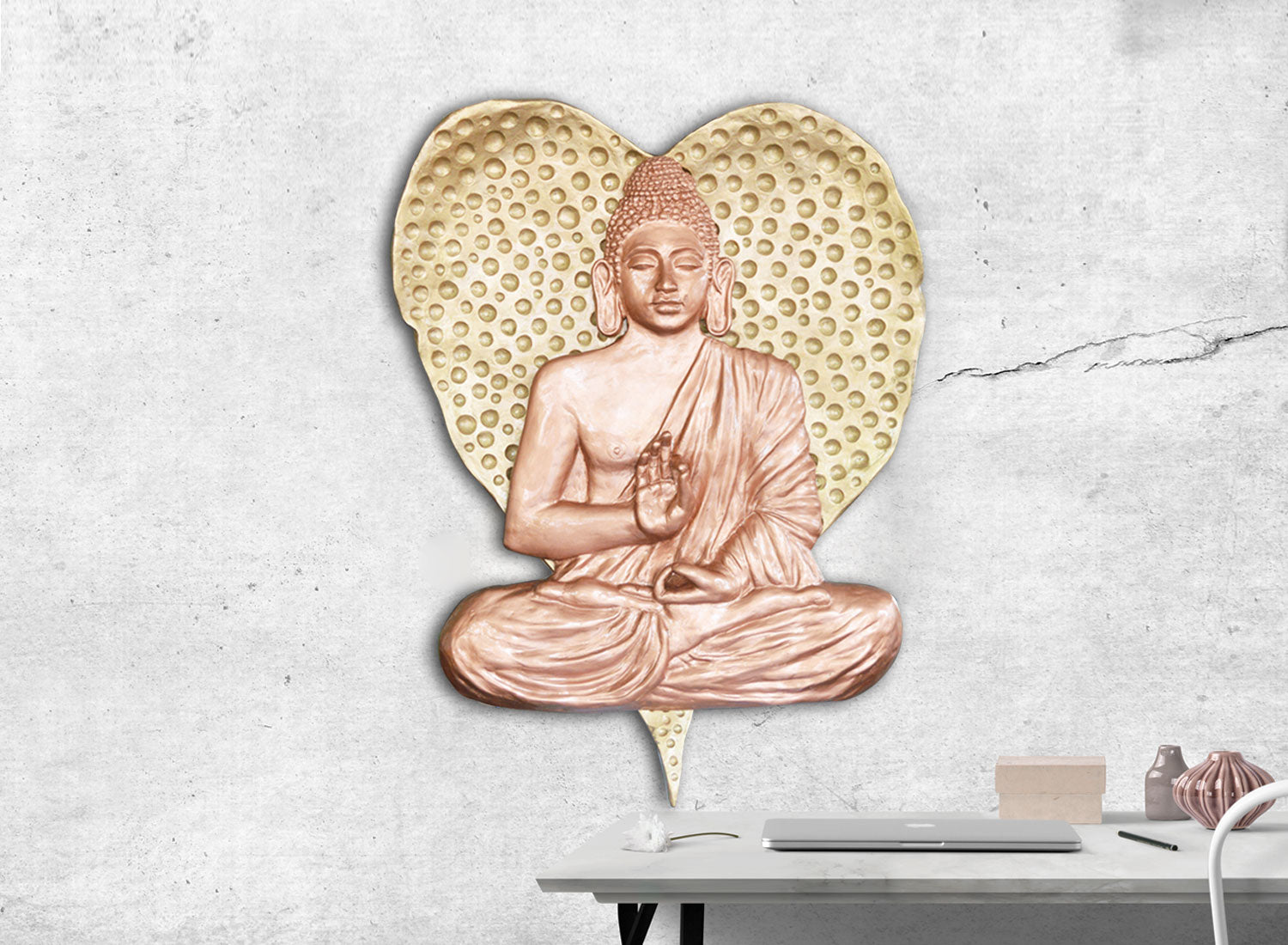 Buddha Wall Decor | Relief Sculpture | Greymode