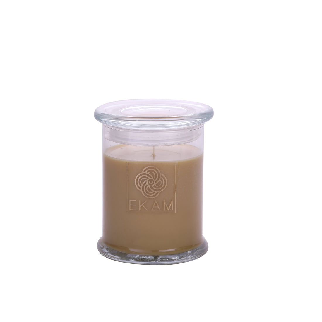 Ekam's Divine Sandalwood Scented Ring Jar Candle