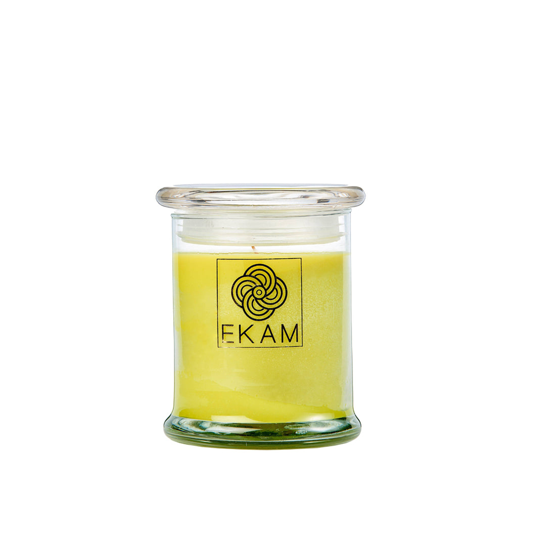 Ekam Lemongrass Scented Ring Jar Candle