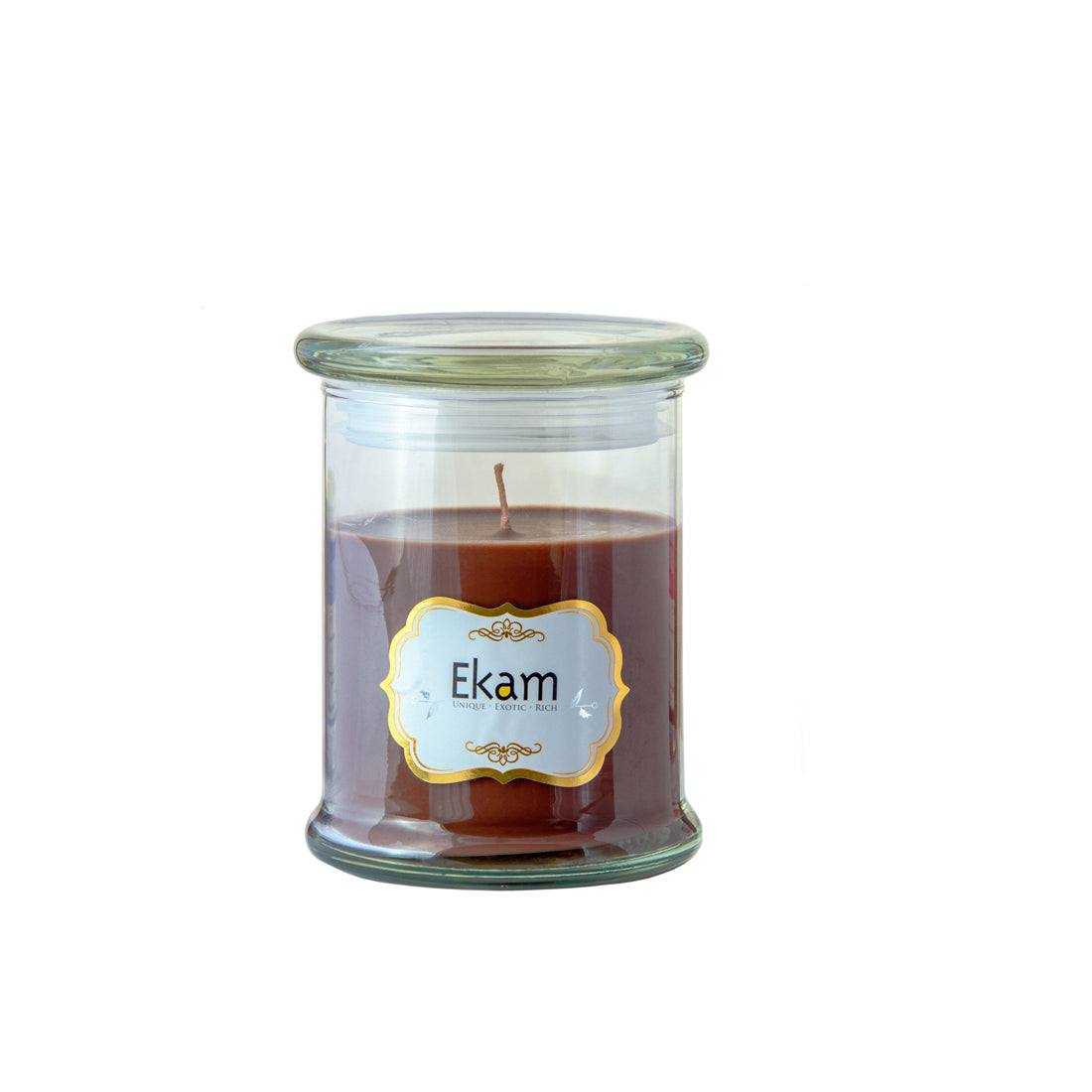 Mahogany Scented Candle | Decorative Jar Candle