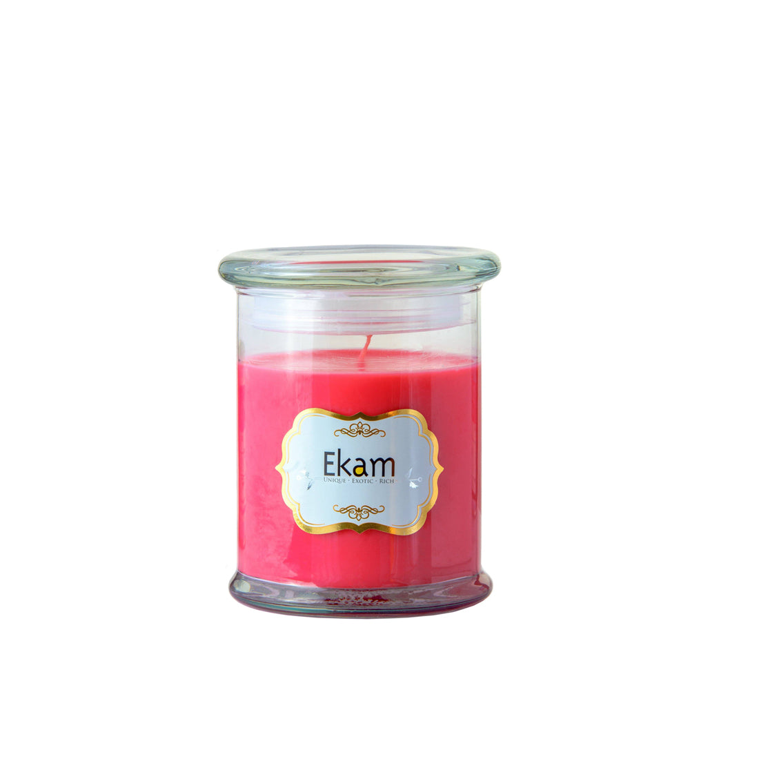 Greymode Rose Scented Jar Candle