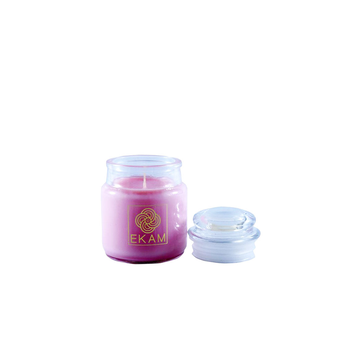 Ekam Strawberry Scented Jar Candle