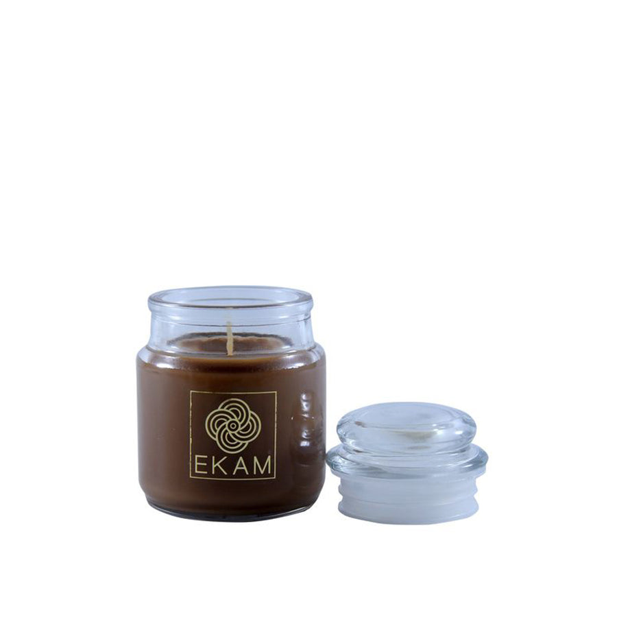 Ekam Driftwood Scented Candle | Jar Candles