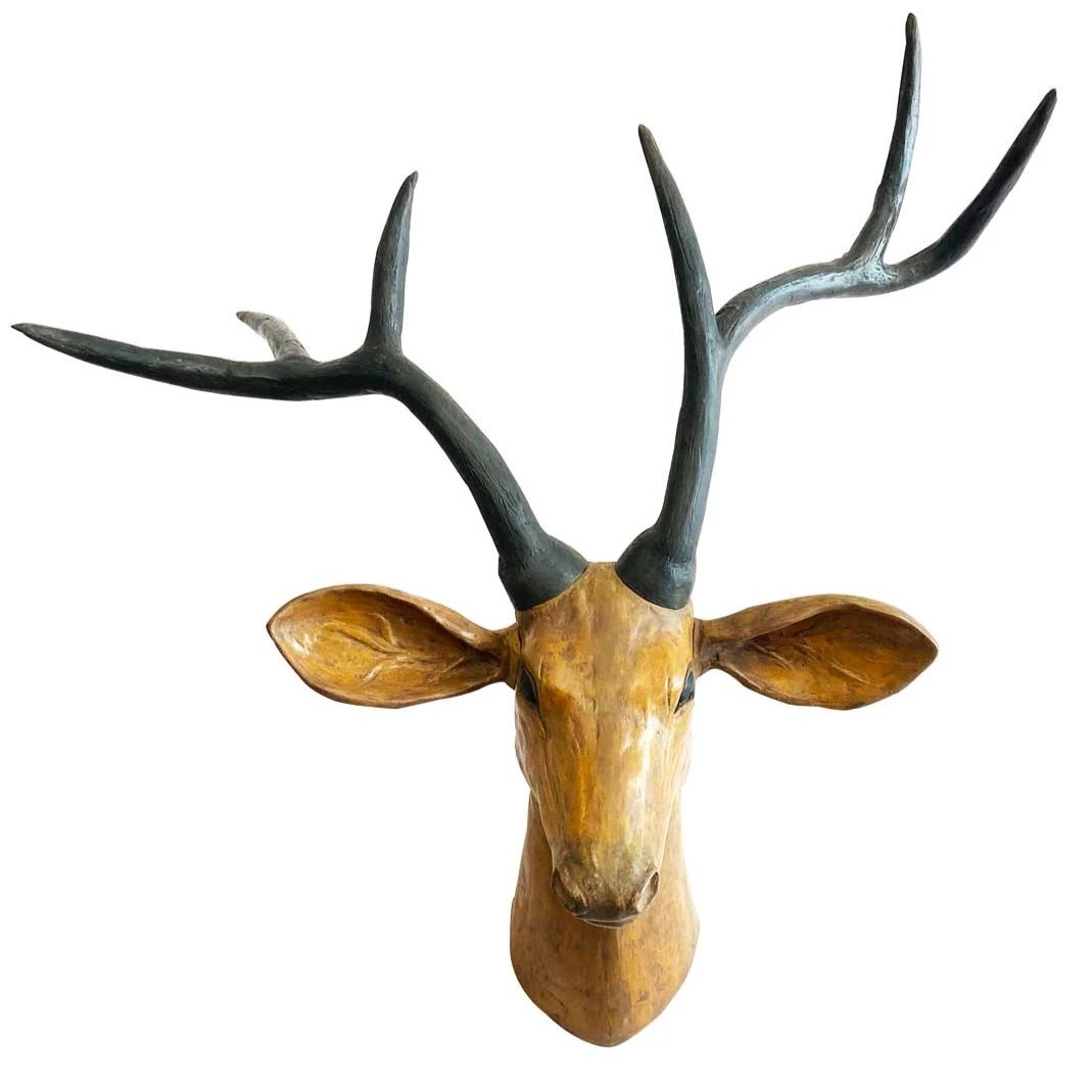 Maan Wall Decor: Animal Head Wall Decor