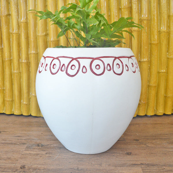 White colored Planter pots