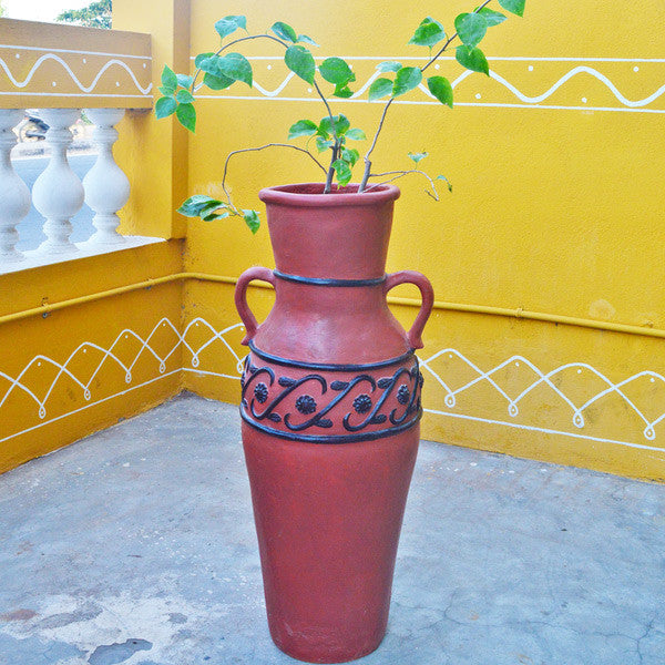 Decorative Clay Planters for Home Decoration