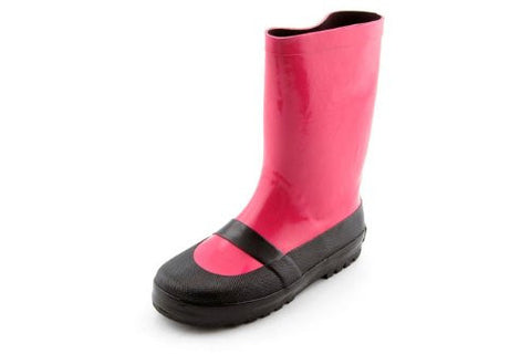 Pink Mary Jane Rain Boots for Girls
