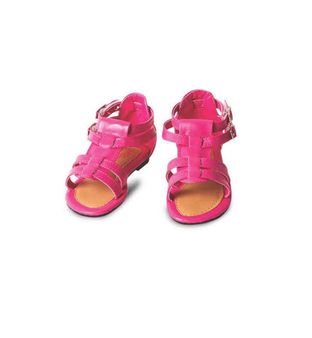 EBONY Gladiator Sandals for Baby Girls by Max Collection
