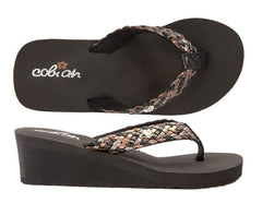 Lil' Eden Flip Flops for Girls by COBIAN