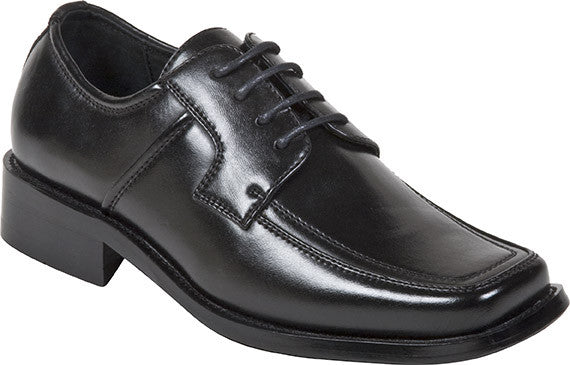 BICYCLE TOE LACE UP OXFORDS Dress Shoes for BIG BOYS by Goodfellas