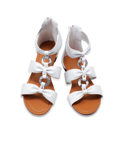GALA Bow Tie Ankle Sandals by Max Collection