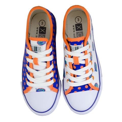 University of Florida Canvas Lace-Up Sneakers for Women