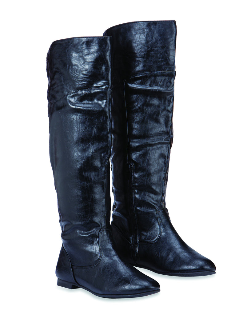 MAGIC Knee Length Boots for Women by Max Collection