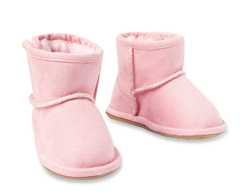 MIGHTY Infant Suede Boots by Max Collection