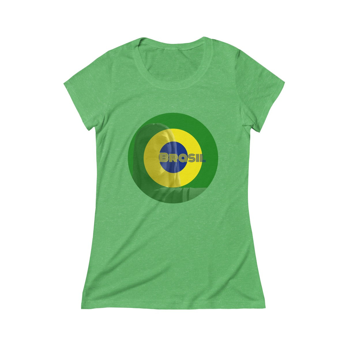 Rocco Brasil Triblend Short Sleeve Tee