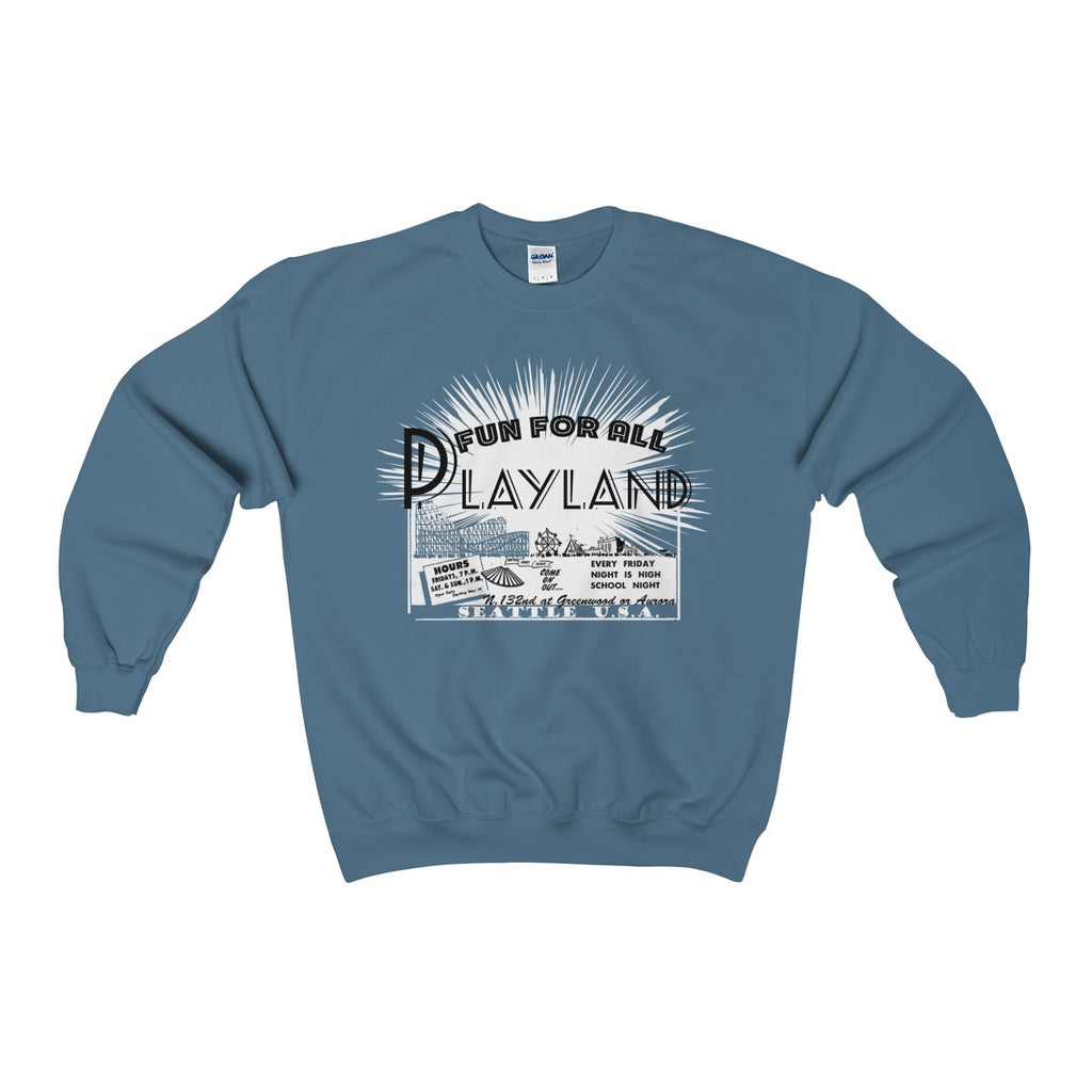 Playland Unisex Heavy Blend™ Crewneck Sweatshirt