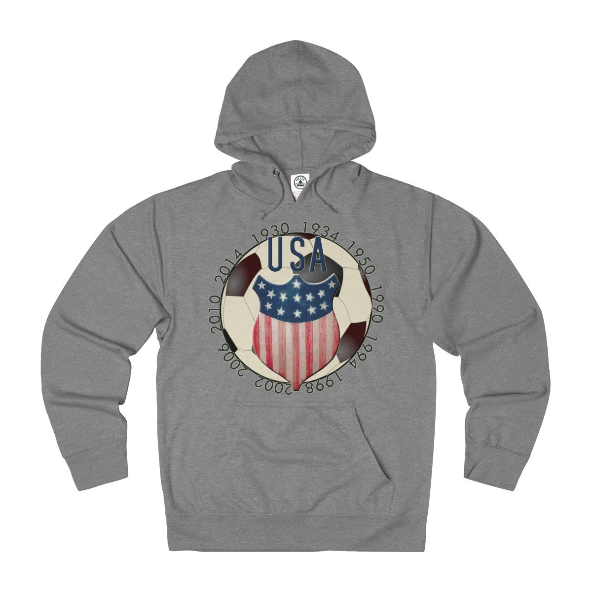Rocco Soccer USA Unisex French Terry Hoodie