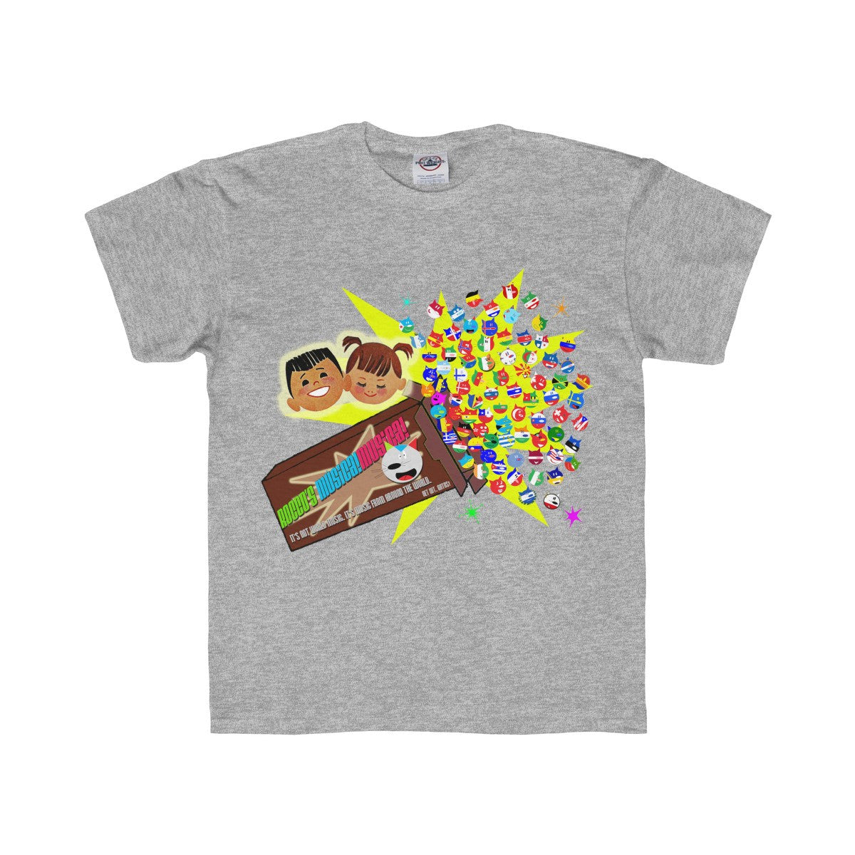 Rocco's Gato Nation Youth Regular Fit Tee