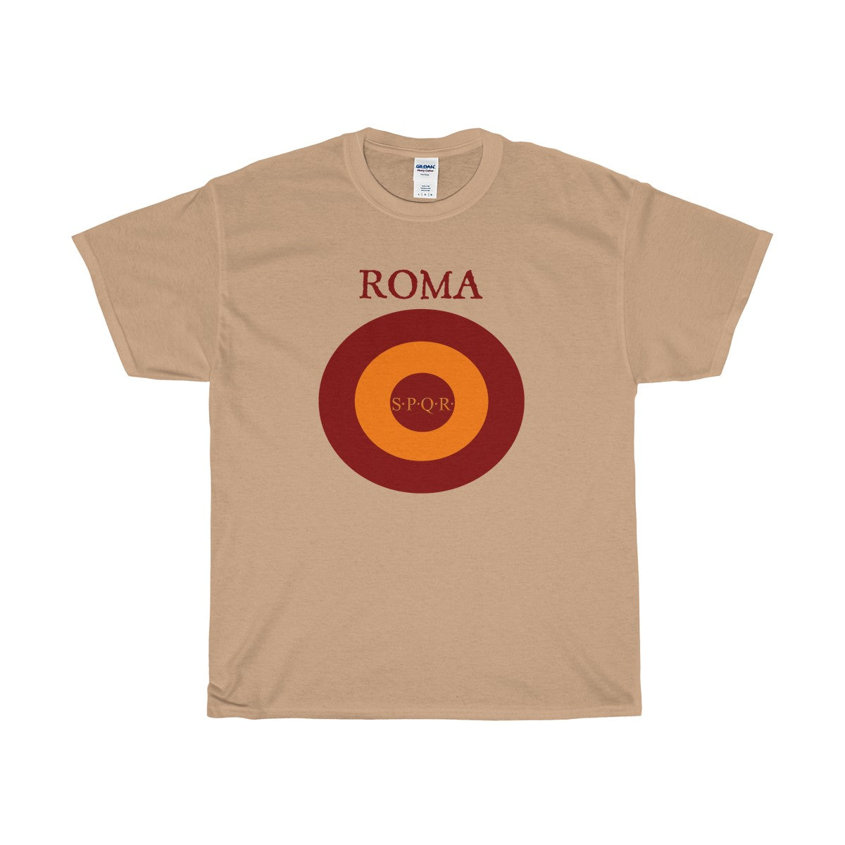 Rocco Roma Unisex Heavy Cotton Tee