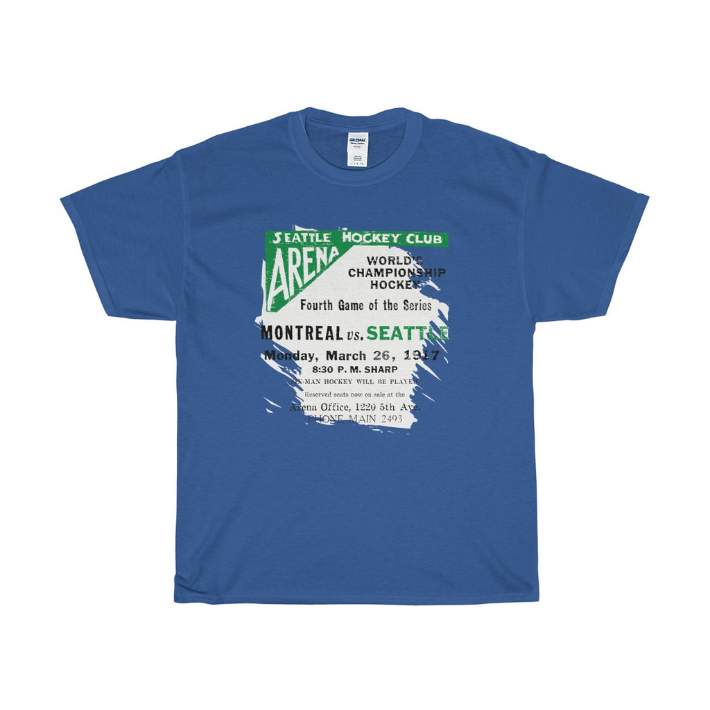 Seattle World Champions 1917 Unisex Heavy Cotton Tee