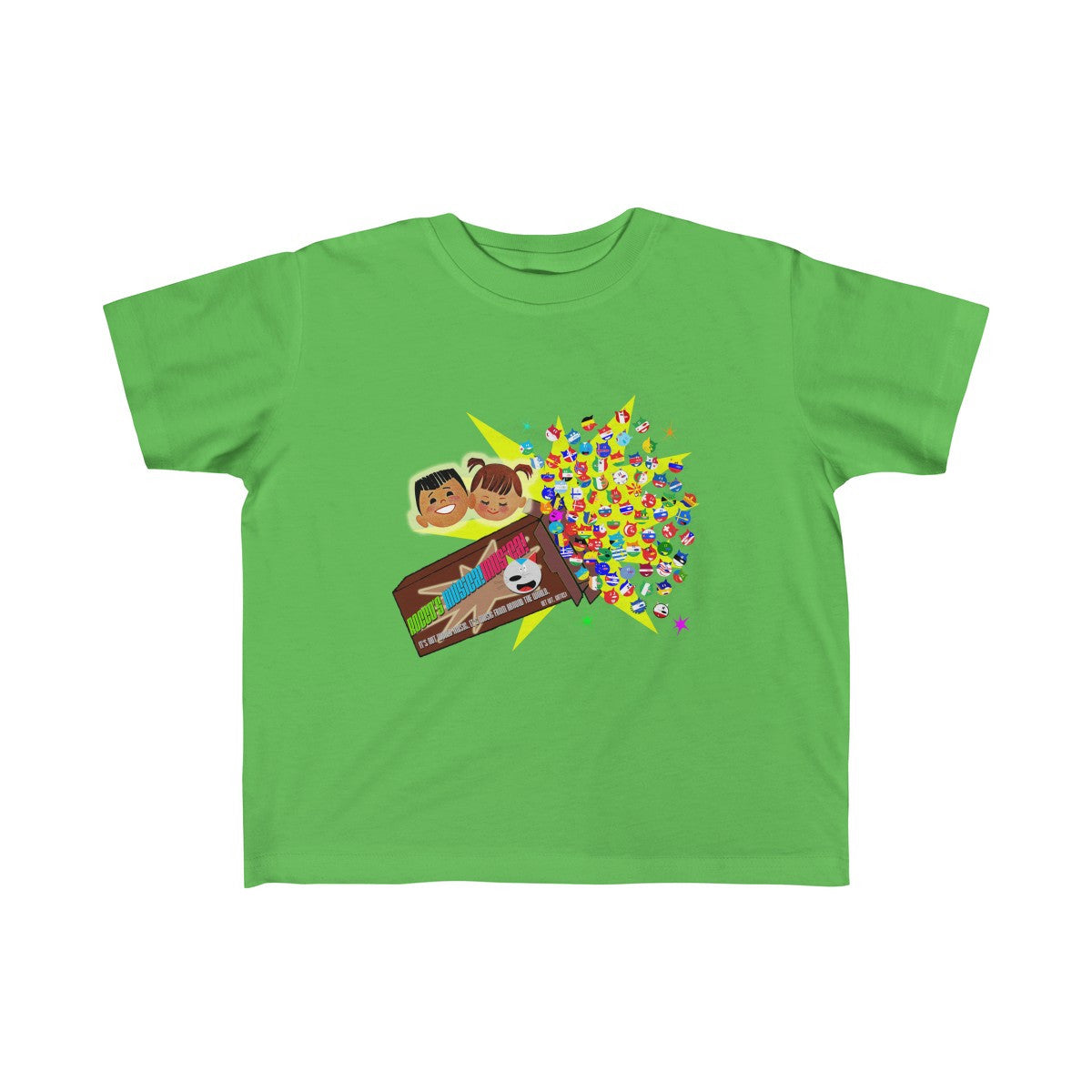 Rocco's Gato Nation Toddler Fine Jersey Tee