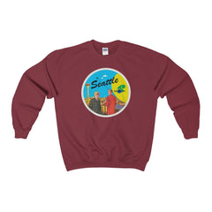 Jet City 2 Heavy Blend™ Adult Crewneck Sweatshirt