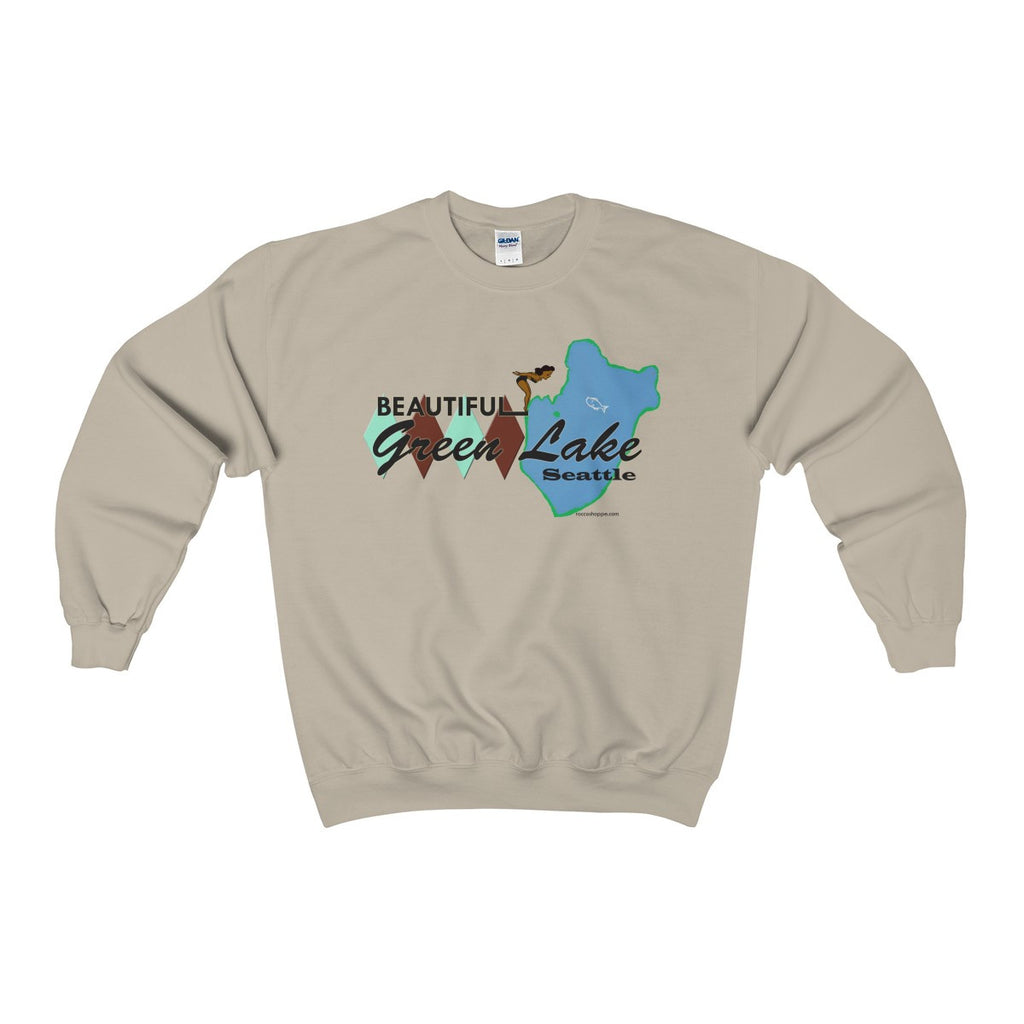 Green Lake Heavy Blend™ Adult Crewneck Sweatshirt