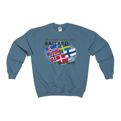 Ballard Heavy Blend™ Adult Crewneck Sweatshirt
