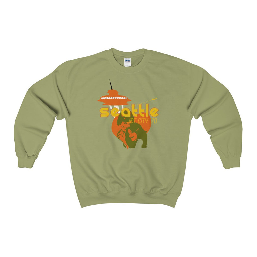Jet City '70 Heavy Blend™ Adult Crewneck Sweatshirt