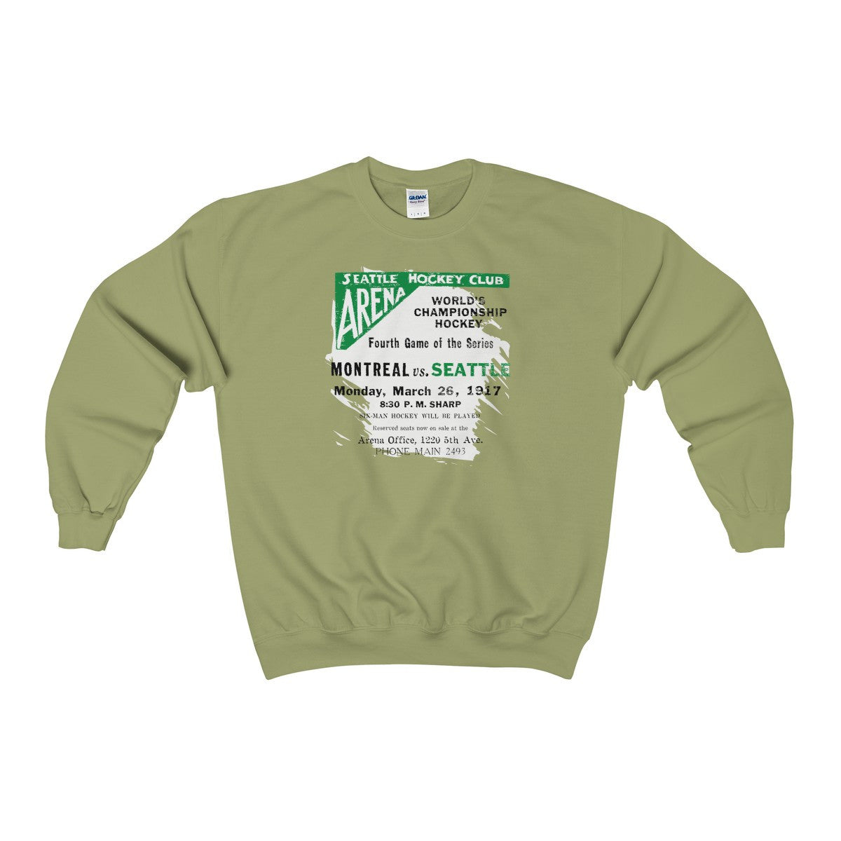 Seattle World Champions 1917 Heavy Blend™ Adult Crewneck Sweatshirt