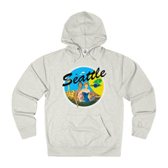 Rocco's Jet City: Danielle and Manon Unisex French Terry Hoodie