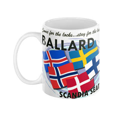 Seattle Stompin' Grounds: Ballard Mug