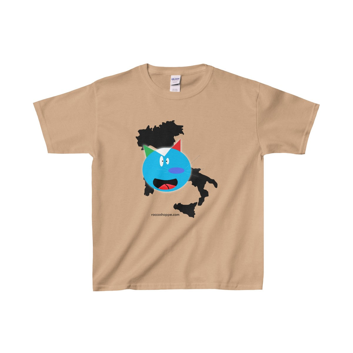 Rocco's Pal Squigi Bigger Kids Heavy Cotton™ Tee