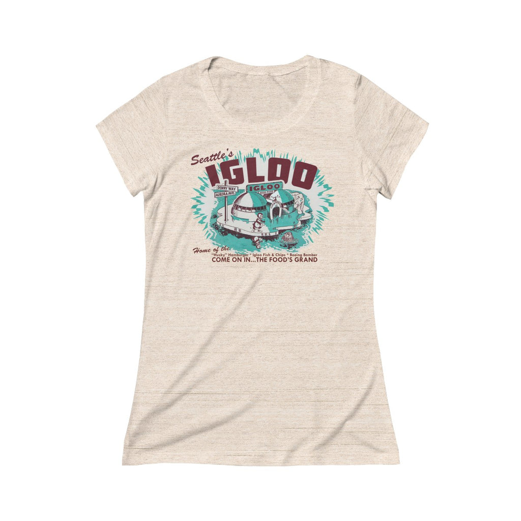 The Igloo Triblend Short Sleeve Tee