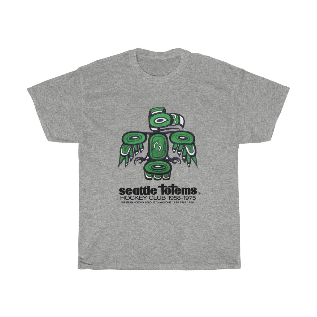 Seattle Totems 1958-1975 Unisex Heavy Cotton Tee