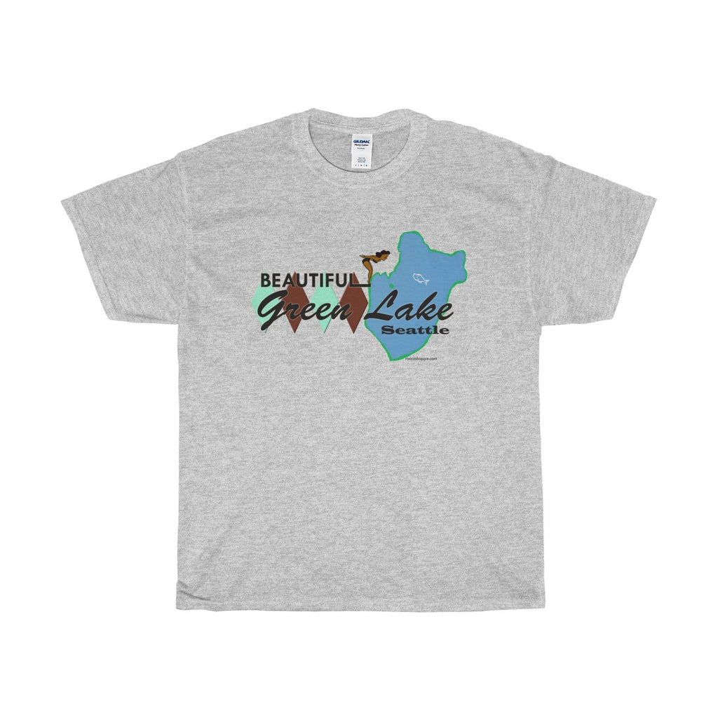 Green Lake Unisex Heavy Cotton Tee