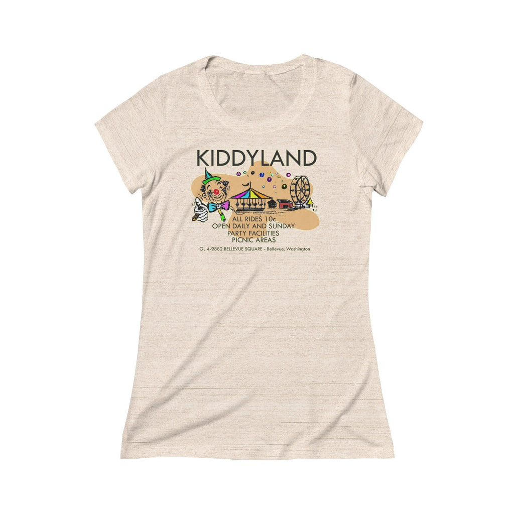 Kiddyland Triblend Short Sleeve Tee