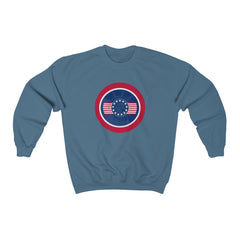 Rocco USA Heavy Blend™ Adult Crewneck Sweatshirt