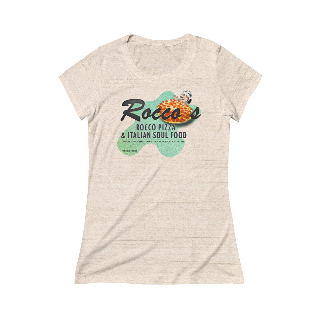 Rocco's Pizza and Italian Soul Food Triblend Short Sleeve Tee