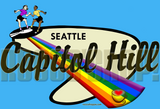 Seattle Stompin' Grounds: Capitol Hill Mug