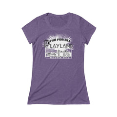 Playland Triblend Short Sleeve Tee