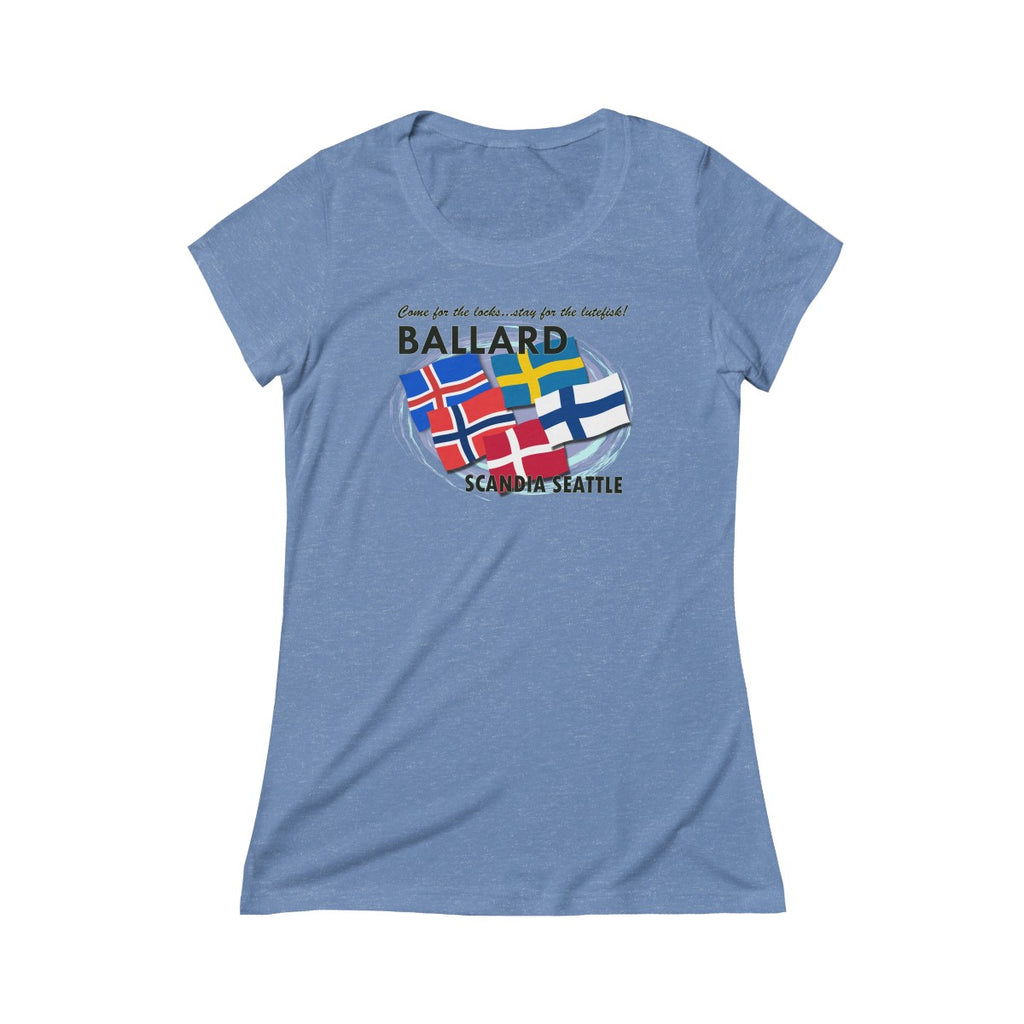 Ballard Triblend Short Sleeve Tee