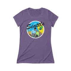 Rocco's Jet City: James and Dawn Triblend Short Sleeve Tee