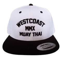 Classic Natural White/Black Two-Tone Natural White WCMT Hat