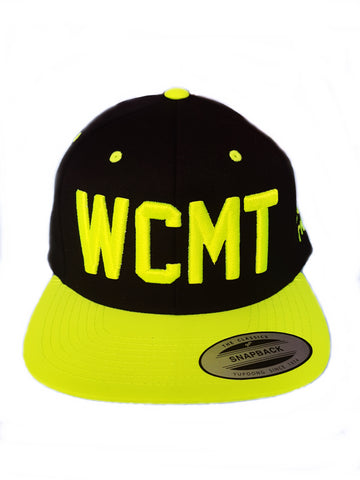 CLEARANCE- Neon/Black Two-tone  WCMT Hat