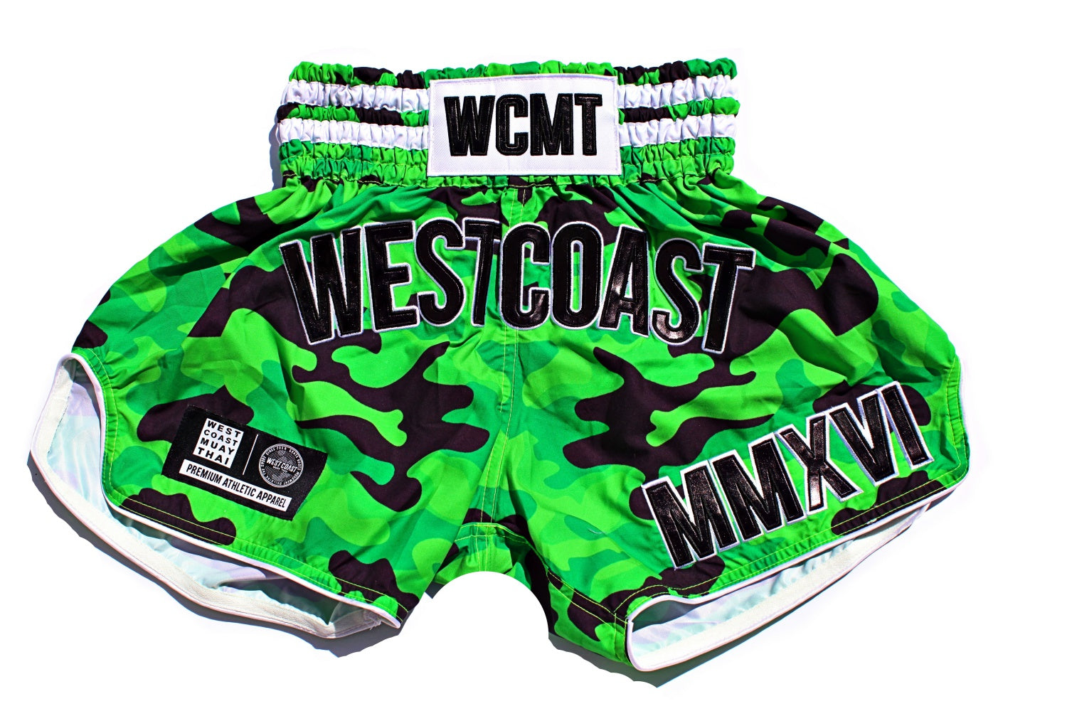 WCMT Thai Short-Aloha Green Camos